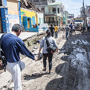 Tzu Chi Assesses the Damages Caused by Hurricane Matthew in Haiti