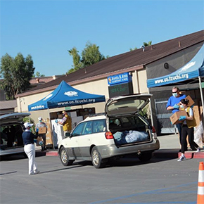 Tzu Chi Resumes Food Aid in San Bernardino, California