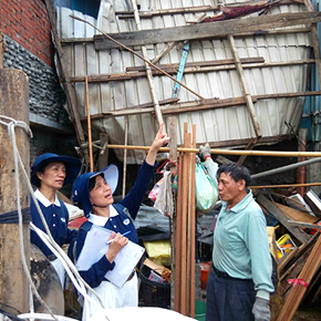 Tzu Chi Begins Relief Work in Southeast Taiwan After Typhoon