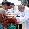 Tzu Chi Teaches Hygiene to Earthquake Survivors in Nepal